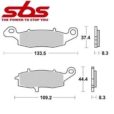 Sbs 704sp Suzuki C50 Boulevard 2005 In Dann Auto & Motorrad: Teile Vorsichtig Paar Bremseklotz Ant