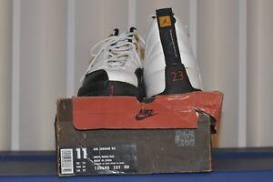 f3f8f0ea417e Nike Air Jordan X11 1996 Men wht blk-taxi retro 130690 101 00