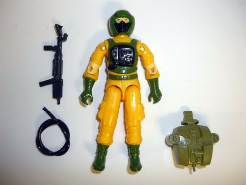 v1 1985 G.I JOE AIRTIGHT Vintage Action Figure 99/% COMPLETE 3 3//4 C9