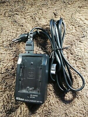 Nikon Quick Charger MH 18a Ladegerät Ohne Akku Mit