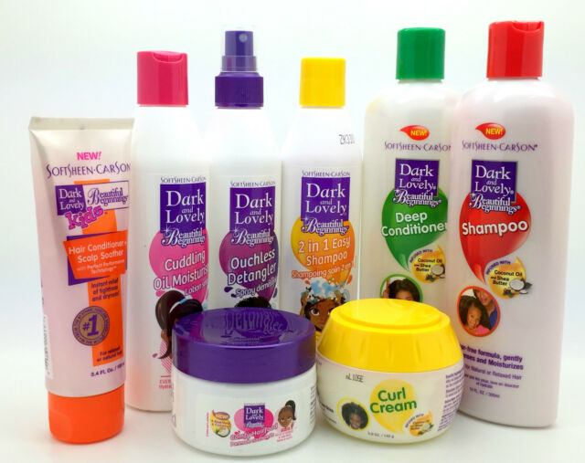 Dark and Lovely Beautiful Beginnings Kids Hair Care Products