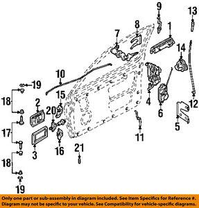 image is loading nissan-oem-86-91-d21-door-lock-cylinder-