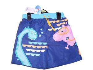 1f587cf0aaea6 Boys George Pig Peppa pig Swim Shorts summer beach shorts Swimwear ...