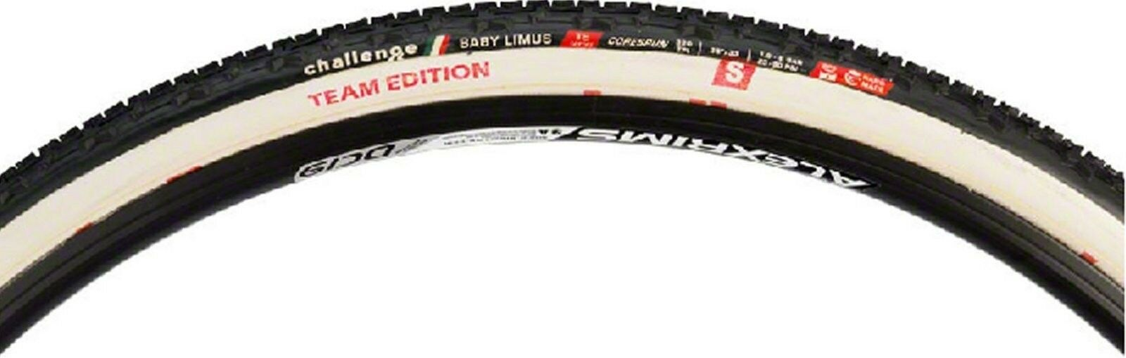 Challenge Baby Limus S Team Edition cyclocross tubular 700 x 33