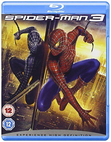 1 of 1 - Spider-Man 3 [Blu-ray] [2007] [Region Free] By Tobey Maguire,Kirsten Dunst,Sa.