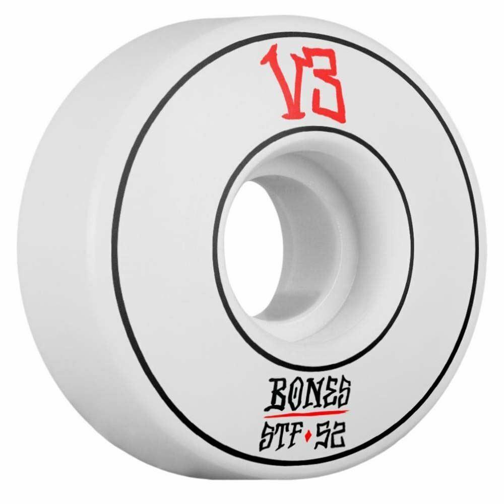 Bones Wheels STF  V3 Annuals Slims S board Wheels 103A White 52mm  cheaper prices