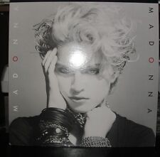 MADONNA CANADA FIRST ALBUM BURNING UP 1ST PRESSING LUCKY STAR BORDERLINE HOLIDAY