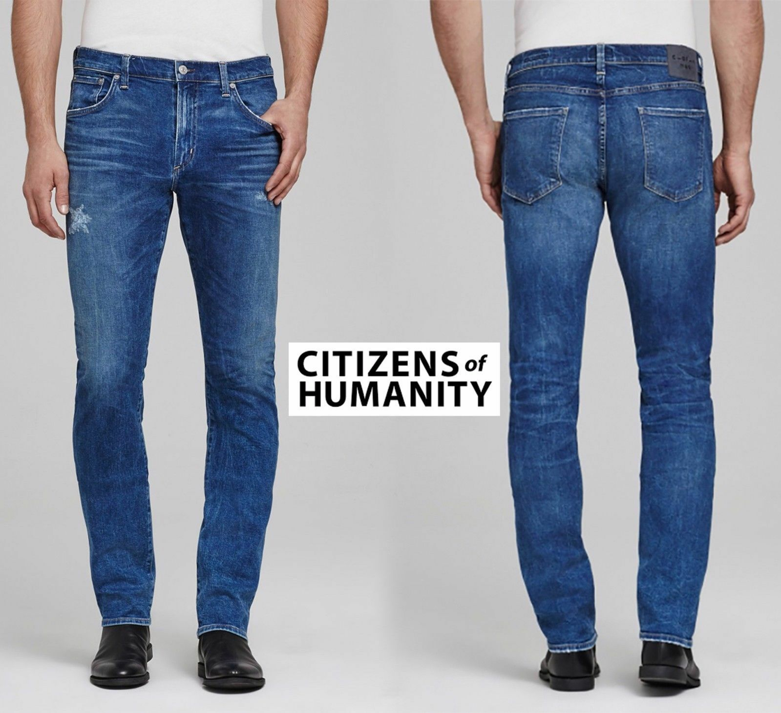 NWT  CITIZENS OF HUMANITY GAGE SLIM STRAIGHT BRISTONS JEANS. SZ 30X34