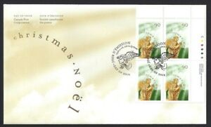 Canada-1766-URpb-CHRISTMAS-ANGELS-New-1998-Unaddressed