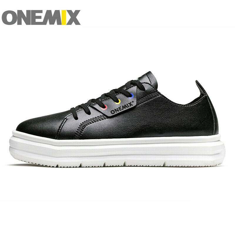 ONEMIX Men &Women Casual shoes Water Proof Leather Walking shoes