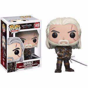 Funko-Pop-Games-The-Witcher-Geralt-Vinyl-Action-Figure
