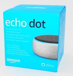 Amazon-Echo-Dot-grau-Dritte-Generation-Smart-Lautsprecher-Alexa-Neu-amp-OVP