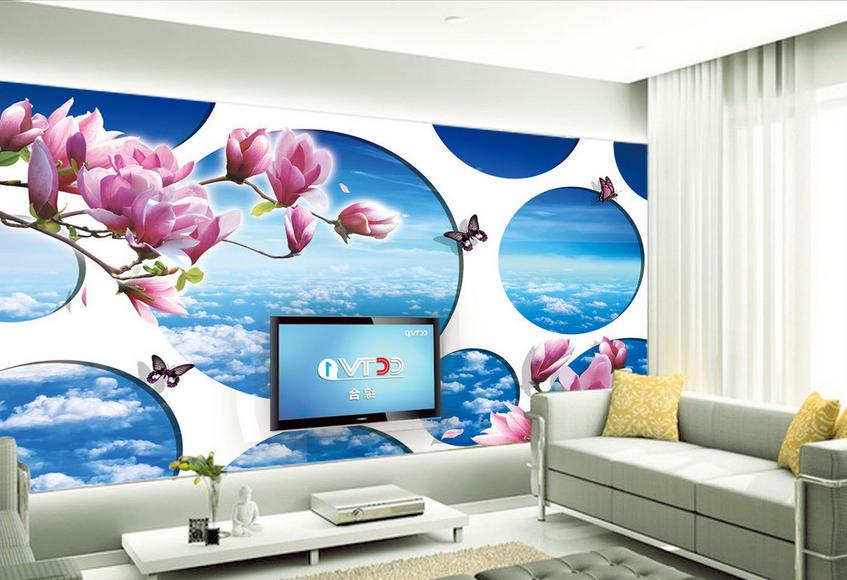 3D Kreative Wolken 7464 Tapete Wandgemälde Tapete Tapeten Bild Familie DE Summer