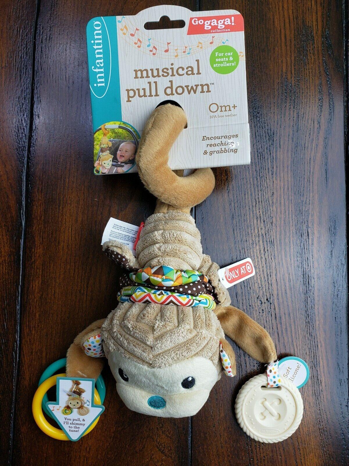 Infantino Go GaGa Musical Pull Down
