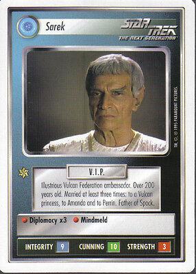 STAR TREK CCG WHITE BORDER PREMIERE 1995 BETA RARE CARD VARON-T DISRUPTOR