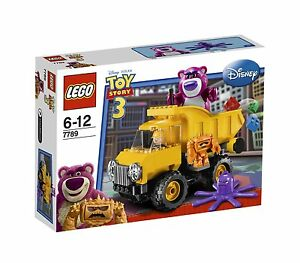 NEW-IN-SEALED-BOX-LEGO-TOY-STORY-3-Lotso-039-s-Dump-Truck-7789-129-pces-RARE
