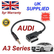 AUDI A3 Series AMI MMI 4F0051510F Music Interface 3.5mm Jack input Cable