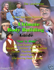 How to Make Life-Size Dummy,Doll,Heads,Weighted,Outdoor,Color Illustrated BOOK