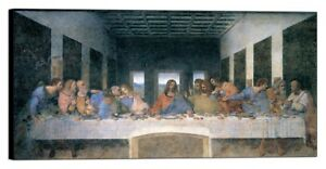 Das letzte Abendmahl art Jesus Bild 50x100 L´ultima cena  Da Vinci A20LDV8