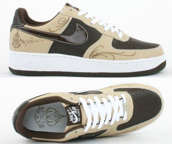Nouveau Nike Airforce One 1 brownpride par MISTER MR Cartoon- Chaussures de sport pour hommes et femmes