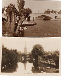 6-Abingdon-Bridge-Town-Hall-St-Helens-etc-RP-old-pcs-one-used