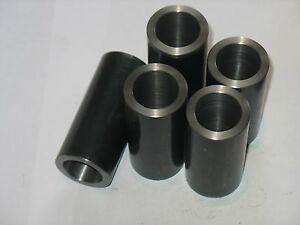 "Steel Bushings //Spacer//Sleeve 5//8/"" OD X 3//8/"" ID X 3 1//4/"" Long  4 Pcs  CRS"