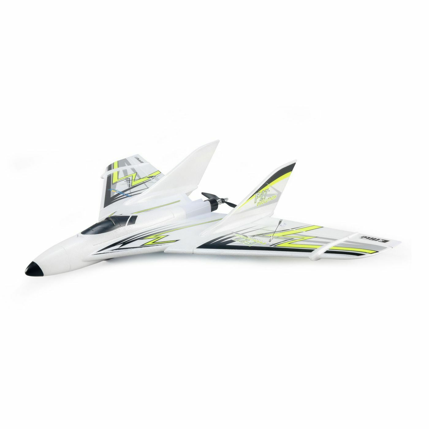 Horizon Hobby E-FLITE ® f-27  EVOLUTION BNF BASIC CON as3x e Safe-Select  NUOVO  si affrettò a vedere