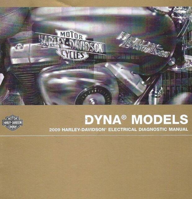 2009 Harley Davidson Dyna Models Electrical Diagnostic