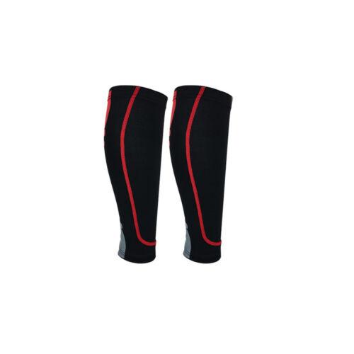 1 Pair Compression Running Football Calf Support Brace Leg Socks Shin Protector