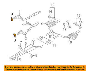 Audi Oem 0509 A4 Quattro 32lv6 Exhaustconverter Pipe Gasket. Is Loading Audioem0509a4quattro32l. Audi. 1999 Audi A4 Exhaust System Diagram At Scoala.co