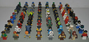 Lego-8-Figuren-Bereiche-Harry-Potter-Classic-Space-Star-Wars-Ninjago-Castle-etc