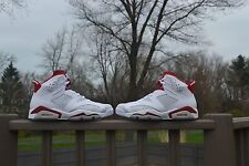 Nike Air Jordan Retro 6 'Alternate Hare' Gym Red White Platinum Size 12 DS