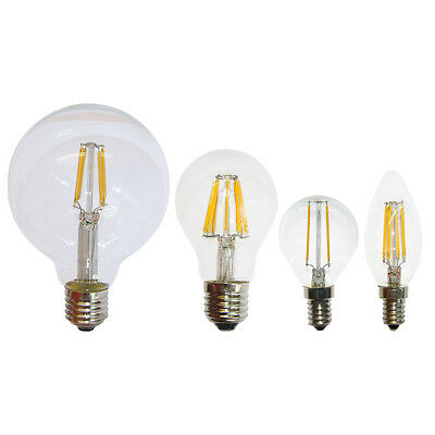 LED Filament Glühfaden Glühbirnen Glühlampen Sparlampe warmweiß 2700K 360° A++