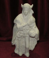 Ceramic Bisque Native American Indian Buffalo Wiseman Ready To Paint