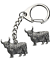 Highland-Cow-Key-ring-And-Pin-Badge-Boxed-Gift-Set-Handcrafted-In-Pewter thumbnail 1