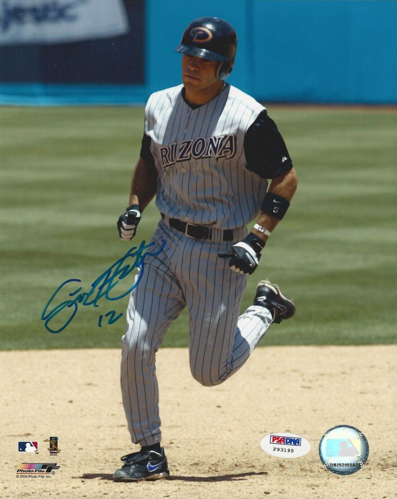 Scott Hairston Arizona Diamondbacks signed 8x10 photo PSA/DNA #F93195
