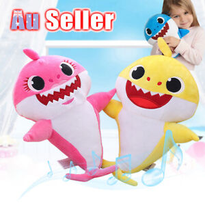 2019-Doll-Toy-Music-Gift-English-Song-Plush-Singing-Toys-Baby-Shark