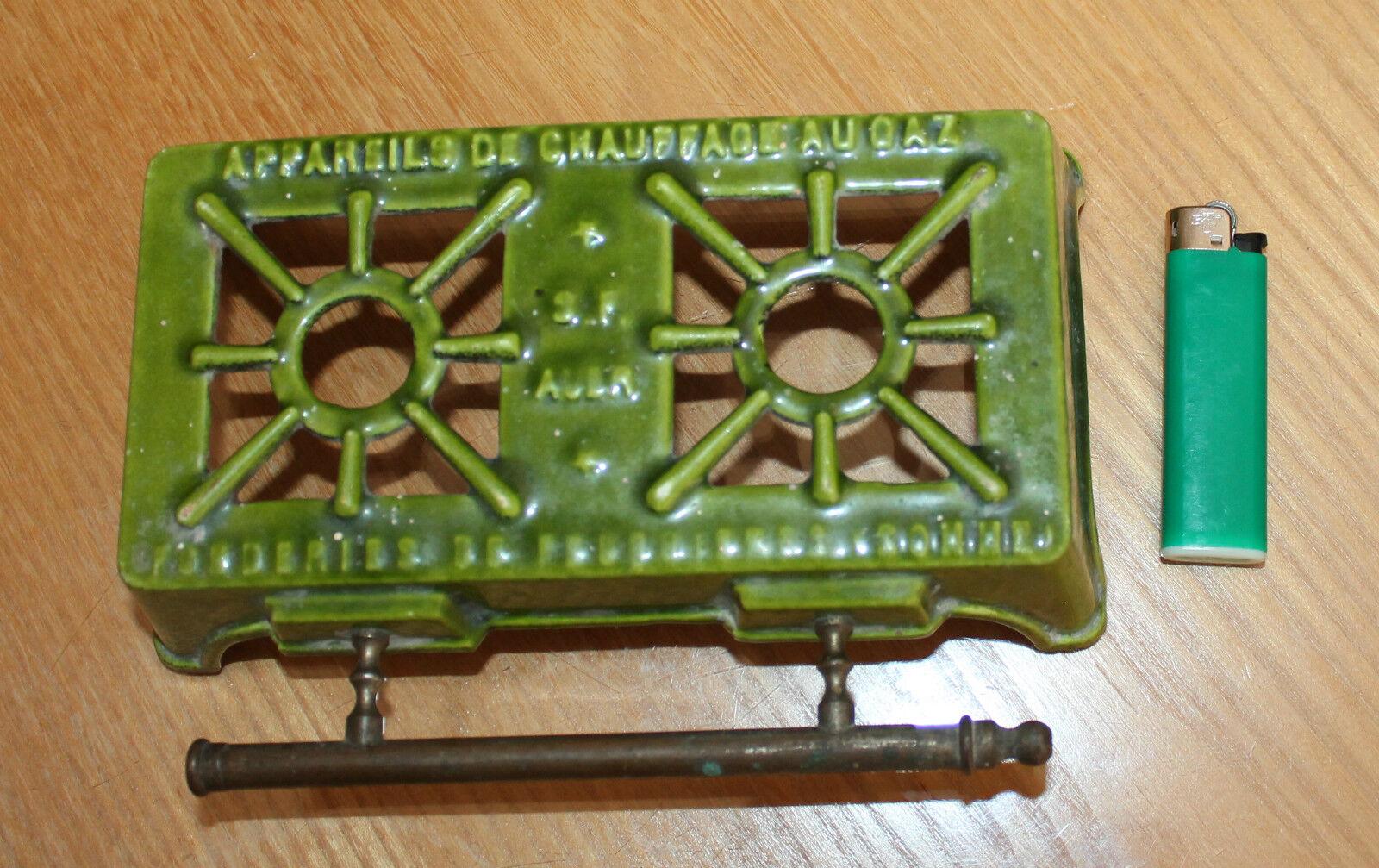 Ancien petit réchaud émaillé de poupée dinette fonderis de feuquieres   somme