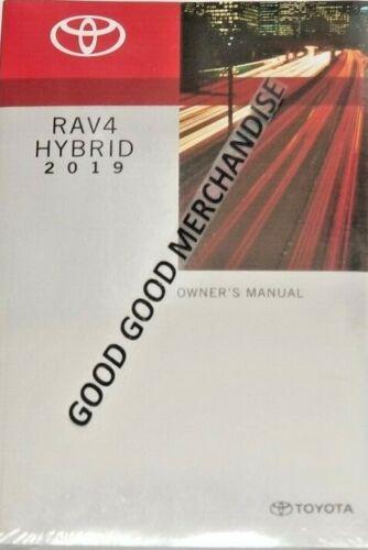 research.unir.net 2019 TOYOTA RAV4 HYBRID OWNERS MANUAL LIMITED ...