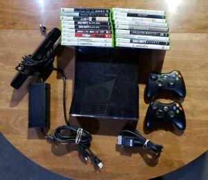 Microsoft Xbox 360 Slim 250GB Black Console Model 1439 18 ...