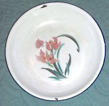 PIATTO IN FERRO SMALTATO made in China anni 60