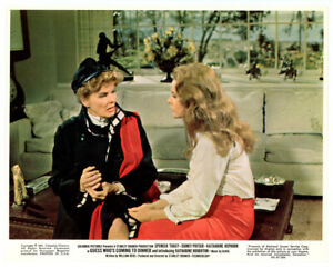KATHARINE-HEPBURN-HOUGHTON-lobby-card-1967-GUESS-WHO-039-S-COMING-TO-DINNER