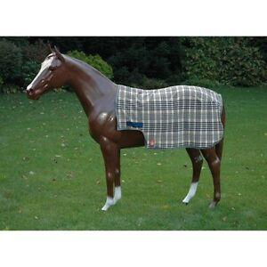 BAKER-Fleece-Quarter-Sheet-Original-Plaid-Sizes-Med-Large-amp-X-Large