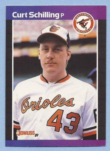 1989 Curt Schilling Donruss Rookie Card #635