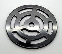 100mm 10cm Round Metal steel Gully Grid Heavy Duty Drain Cover like cast iron