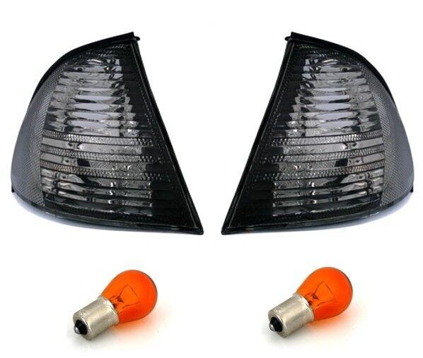 LED Seitenblinker Klar Rauchglas Schwarz Links+Rechts Set E-Pr/üfzeichen