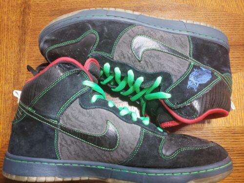"Nike Dunk High Premium SB 313171-006 ""TWIN PEAKS"""