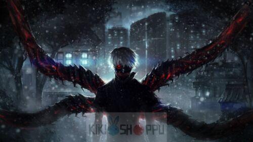 Poster 42x24 cm Tokyo Ghoul Kaneki Manga Anime Cartel Decor Otaku Impresion 15