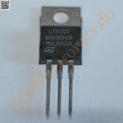 10 x L7912CV Negativ Festspannungsregler -12V/1A STM TO-220 10pcs
