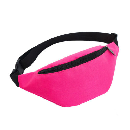 Outdoor Sport Bum Bag Fanny Pack Travel Hiking Waist Money Belt Zip Pouch Bag